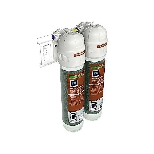 RO/DI Filter Twist-In Dual Deionization Filtration Unit - AquaticLife