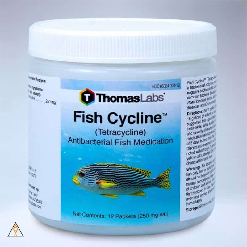Fish Medication Fish Cycline Tetracycline Antibacterial Fish Medication - Thomas Labs