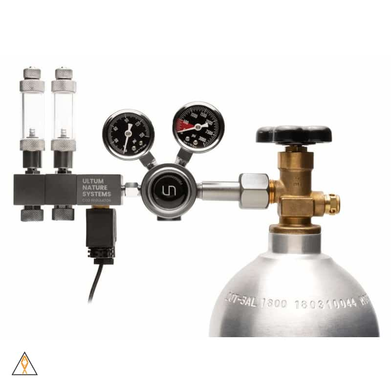 Pro Dual Stage CO2 Regulator CGA320 - Ultum Nature Systems