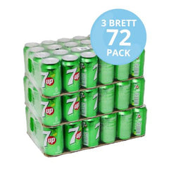 Tre brett 7UP