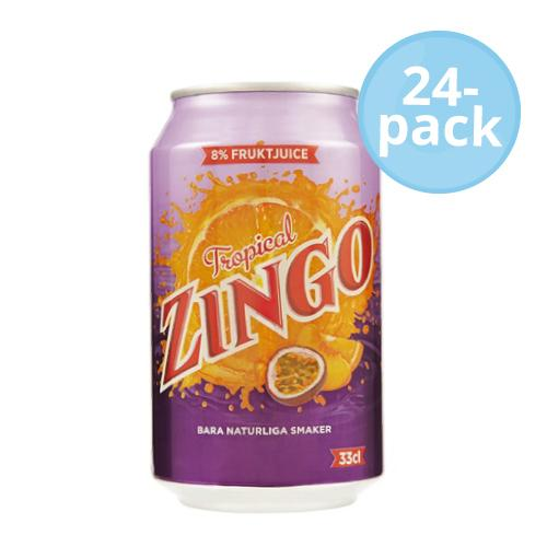 Zingo tropical 33cl x24