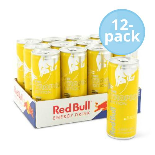 Red Bull Tropical 25cl x12