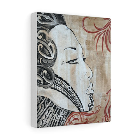 Moko Girl Canvas