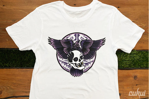 Women's Crows Patch - White