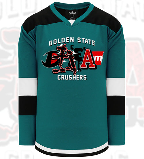 Dream on x Cukui Hockey Jersey - Teal
