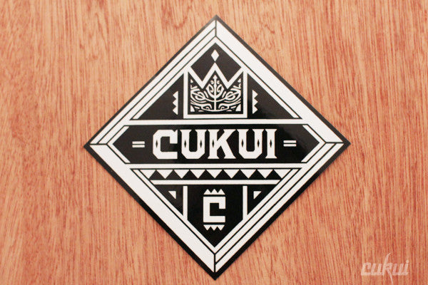 Cukui Diamond Sticker (Black)