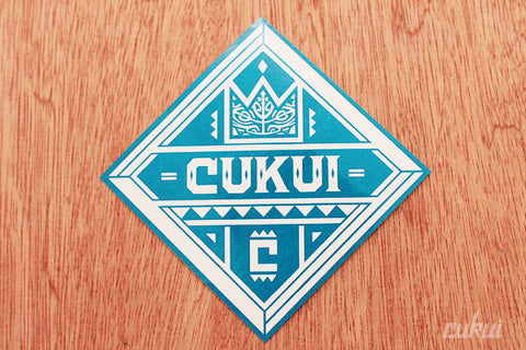 Cukui Diamond Sticker (Turquoise Blue)
