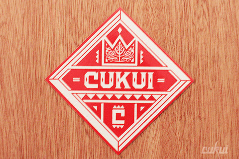 Cukui Diamond Sticker (Red)