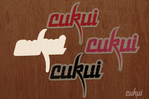 "Cukui ""Logo"" Sticker"