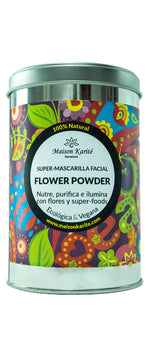 Super Mascarilla Facial Flower Powder