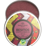 Besitos de Hbiscus con color - Maison Karite