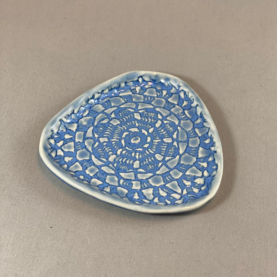 Small Triangle trinket Plate