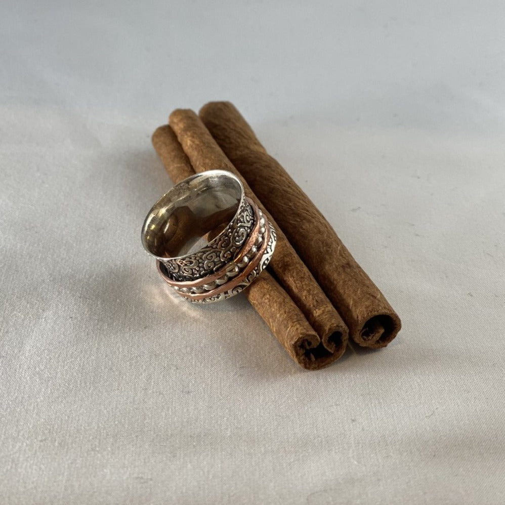 Meditation Ring by Jewelry Bomb