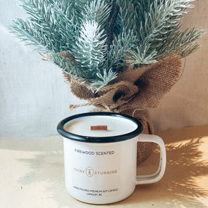 FIREWOOD HOLIDAY SOY CANDLE