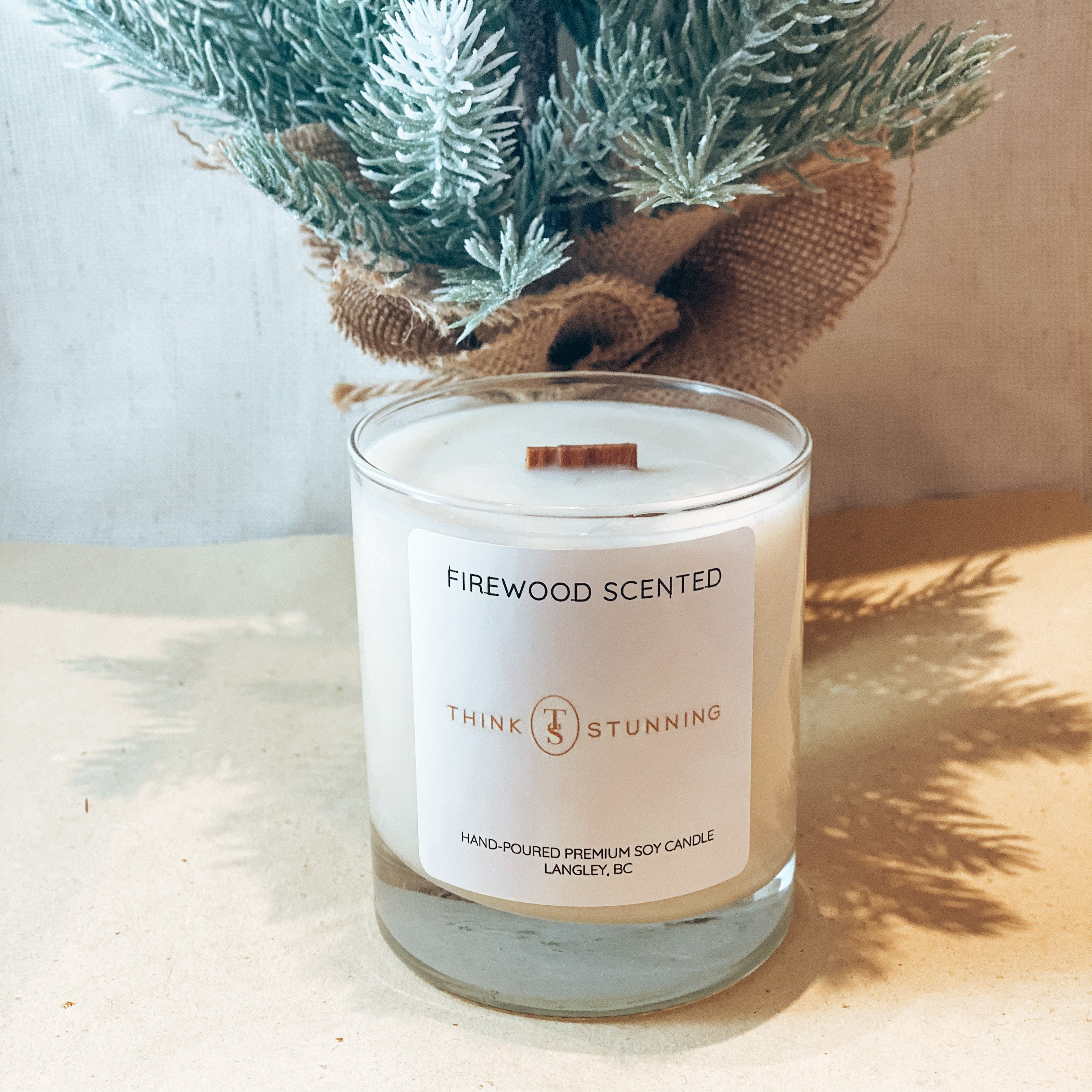 FIREWOOD SOY CANDLE