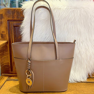 Made in Brazil genuine leather tote