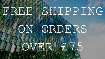 Free Shipping on Orders over £75