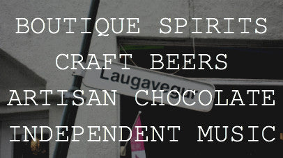 Boutique Spirits. Craft Beers. Artisan Chocolate. Independent Music.