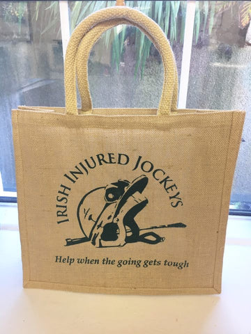 Irish Injured Jockeys Tote Shopping bag