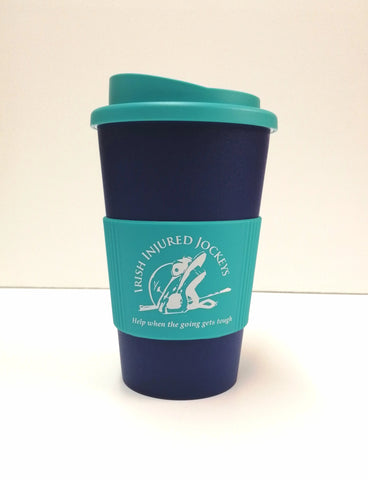 Aqua - Midnight Blue Irish Injured Jockeys Americano Mug