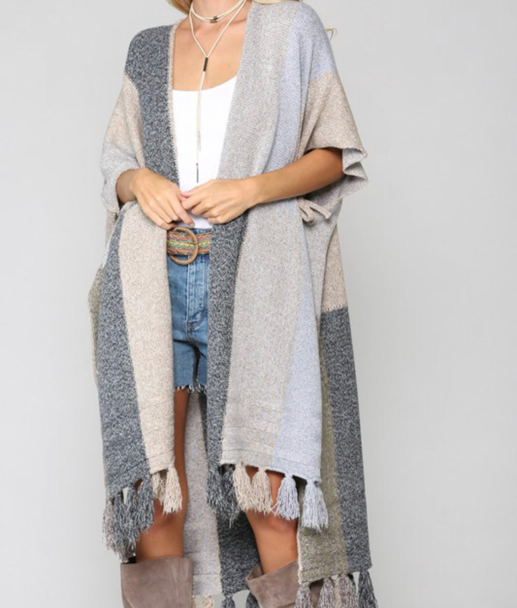 Over Sized Knit Cardigan