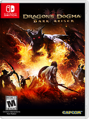 Dragon's Dogma Dark Arisen NSW front cover