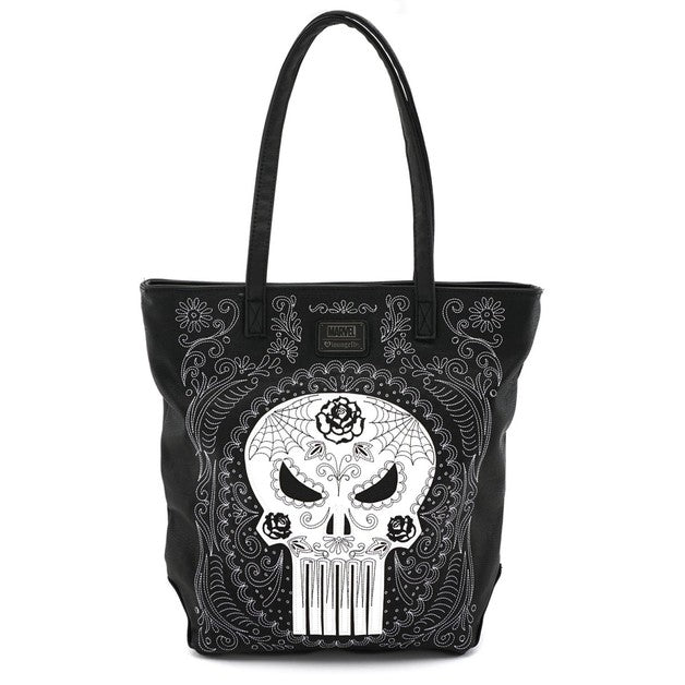 Marvel Punisher Sugar Skull Tote