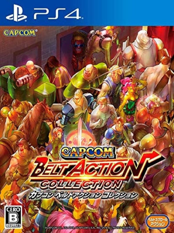 Capcom Belt Action Collection P4 front cover