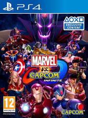 Marvel Vs Capcom Infinite P4 front cover