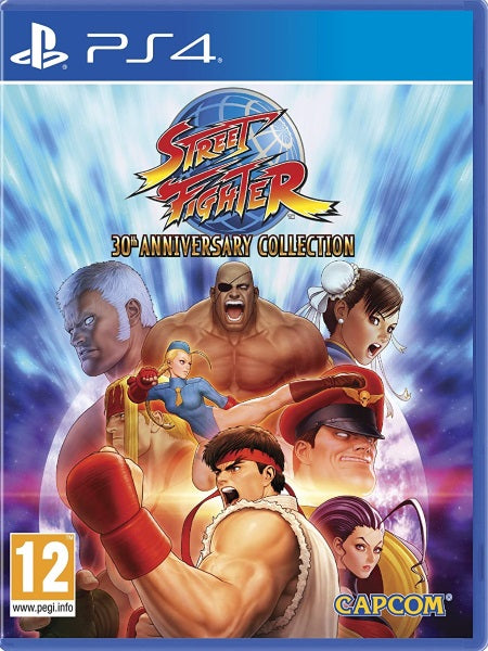 Street Fighter 30th Anniversar P4 front cover
