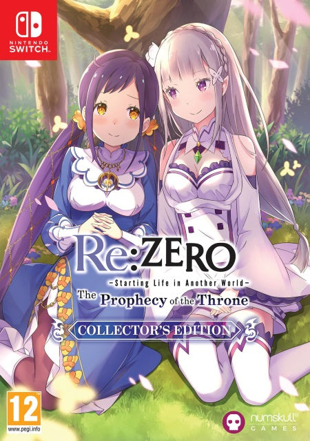 Re ZERO-The-Prophecy-of-the-Throne-Collector's-Edition-NSW-bazaar-bazaar