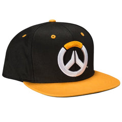 OverWatch Showdown Snap Back Hat Black / Orange