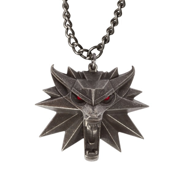Witcher 3 Wild Hunt Medallion with Led Eyes