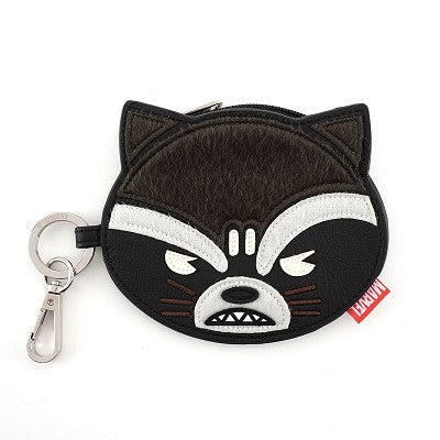 Marvel Rocket Face Coin Bag by Lounglefly