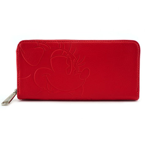 Disney Minnie Mouse Red Wallet by Loungefly
