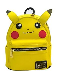 Pokemon Pikachu Face Mini Backpack