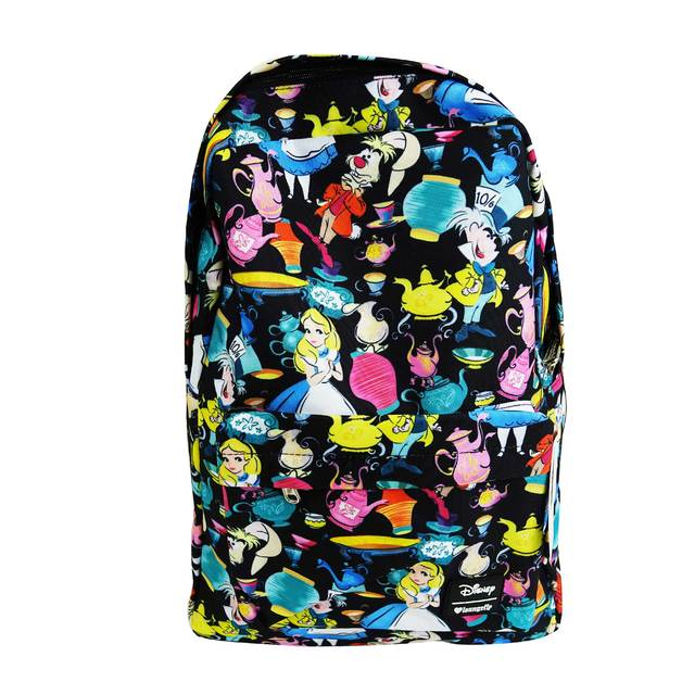 Disney Alice Black AOP Backpack