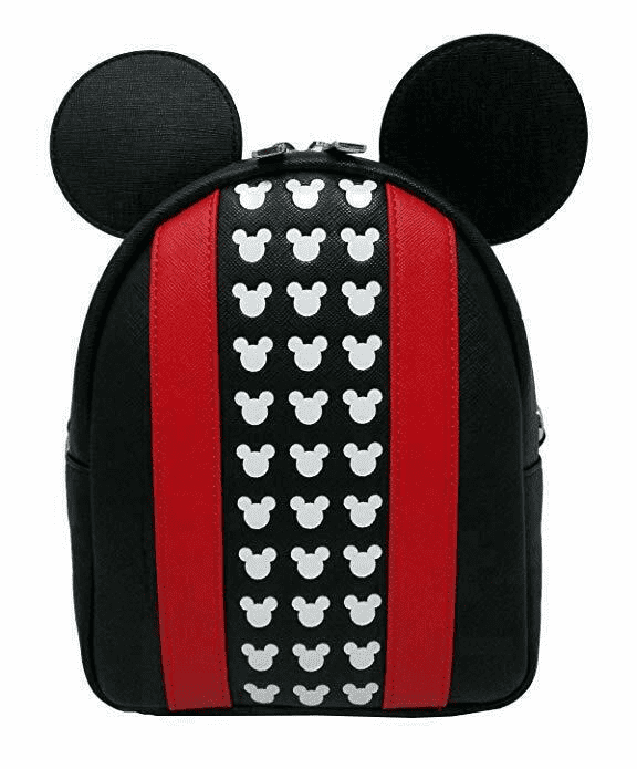 Disney Mickey Apllique and Debossed detail Backpack by Loungefly