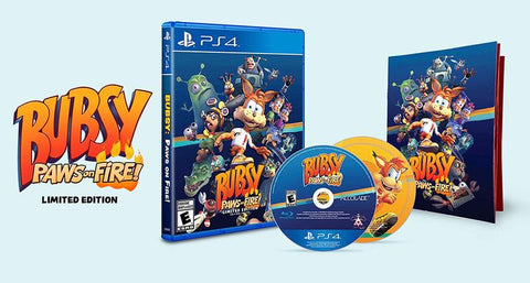 Bubsy: Paws On Fire! - Limited Edition (US Import PS4)