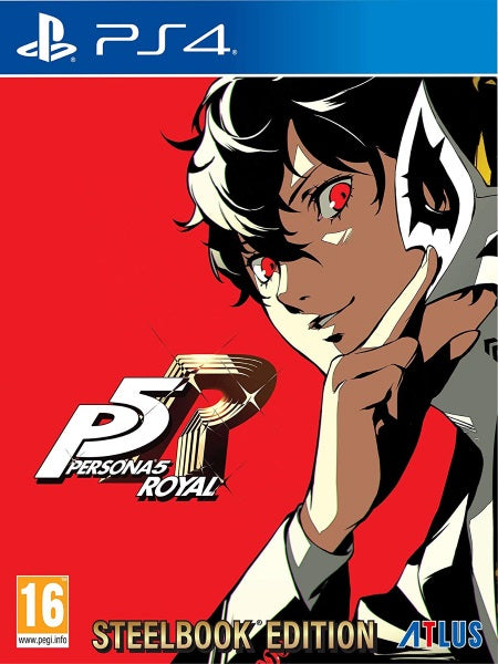 Persona 5 Royal Launch Edition P4 front cover