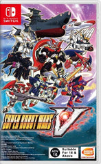 Super Robot Wars V Switch front page