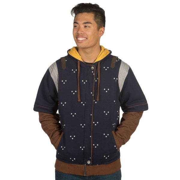 Witcher Grandmaster Hoodie Blue/Yellow