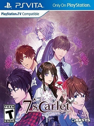 7'Scarlet - PlayStation Vita front cover usa version