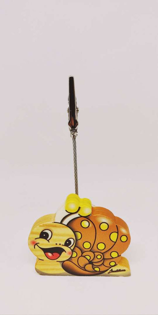 Bartolucci CLIP PICTURE HOLDER SNAIL