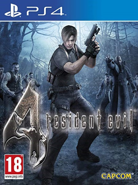 Resident Evil 4 P4 front cover