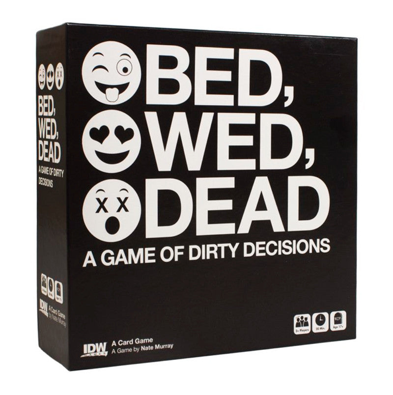Bed, Wed, Dead A Game Of Dirty Decisions box