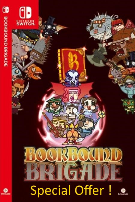 Bookbound Brigade (Multi-Language) - Nintendo Switch