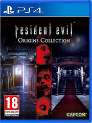 Resident Evil Origins Collection  P4 front cover
