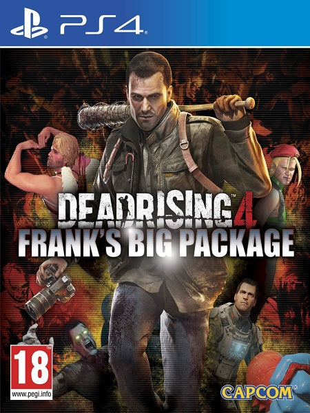 Dead Rising 4 Franks Big Package P4 front cover