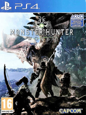 MONSTER HUNTER WORLD P4 front cover